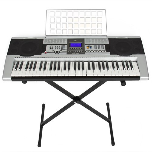 61 Key Electronic Music Keyboard Electronic Piano With X Stand LCD