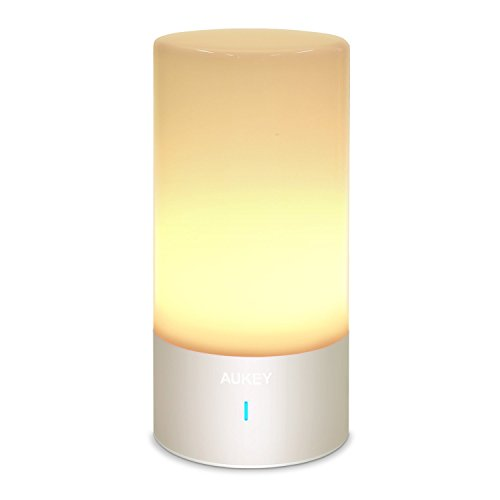 Aukey Bedside Lamp Touch Sensor Table Lamp Dimmable