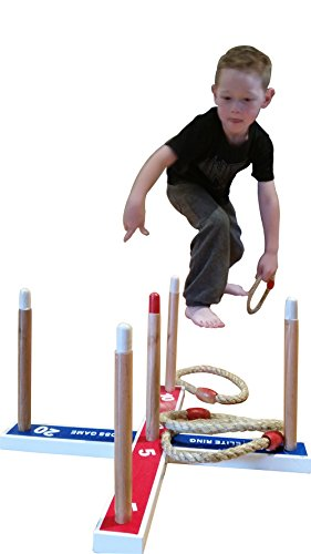 Ring Toss Yard Games - Keeping Kids Busy