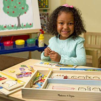 Melissa & Doug See & Spell Learning Toy (Developmental ...