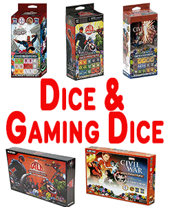 Dice And Gaming Dice