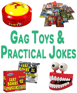 Gag Toys And Practical Jokes