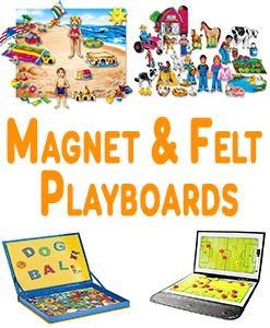 Magnet And Felt Playboards