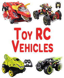 Toy RC Vehicles And Batteries